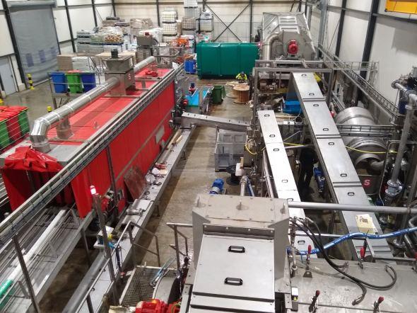 Automatisering verwerkingslijn organisch afval